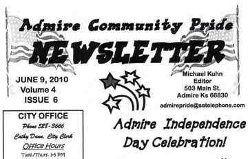 Community Pride Newsletter